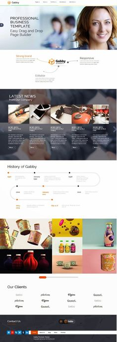 GABBY is a unique, elegant, flexible and fully responsive #WordPress theme which is compatible with #Bootstrap and build with visual composer #page builder.