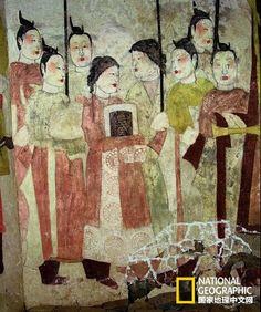 太原徐显秀墓中壁画绘于6世纪,是北齐美术的代表。