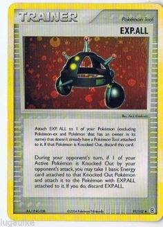 Pokemon Card EX FRLG Reverse Holo Uncommon EXP.ALL 91/112 FREE COMBINED SHIPPING