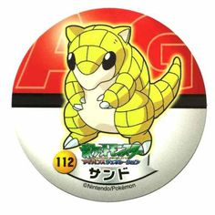 Pokemon 2006 Sapporo Ichiban Ramen AG Collection Series Sandshrew Sticker