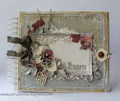 untitled - wire bound shabby chic cover