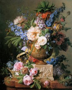 The Beautiful Still-Life Paintings of Cornelis Van Spaendonck