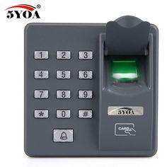 5YOA BX6FY Urządzenia Do Kontroli Dostępu Linii Papilarnych Czytnik RFID Skaner Cyfrowy Elektryczny Czujnik Kod Dla Systemu Zamka Drzwi
