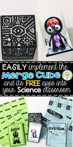 "Easily implement the Merge Cube into your science classroom with this no prep, "". - Easily implement the Merge Cube into your science classroom with this no prep, ""… Easily impl - Human Body Organs, Human Body Art, Human Body Systems, Primary Science, Elementary Science, Science Classroom, Classroom Fun, Primary School, Paper Cube"