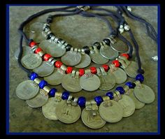 Kuchi coin necklaces.