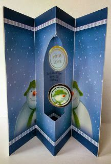 Snowman and Snowdog Paper kit and Insert