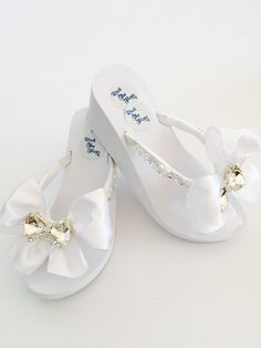3ccc03bad1343 Bridal FLip Flops 3