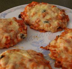 Fett weg! : [Rezept] Oopsies/ Lowcarb Pizzazungen und Mini-Flammkuchen LCHF