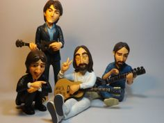 BEATLES  abbey road FIGURES DOLLS statue