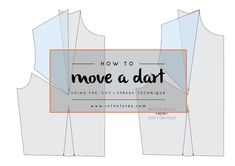 How to : Move a dart (using the 'Cut + Spread' technique) — In the Folds