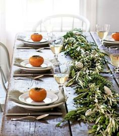 table garland by heidi