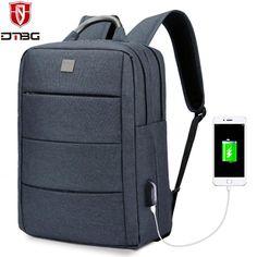 2018 DTBG Backpack for Men 15 15.6 inch Laptop Bag for Apple Macbook HP College  School 99b41565031c4