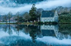 St Finbarrs Oratory, Gougane Barra, Cork, by Paul Byrne Belfast, Dublin, The Places Youll Go, Places To Go, Beautiful World, Beautiful Places, Beautiful Scenery, Amazing Places, Beautiful Landscapes
