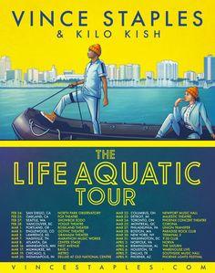Vince Staples Announces the Life Aquatic Tour