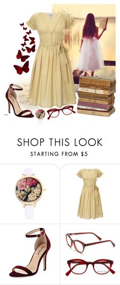 """""""Like an old dream"""" by juli1dfan ❤ liked on Polyvore featuring Looking Glass, Neiman Marcus, Derek Lam and vintage"""