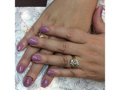 Touch of purple Nails by Anthony