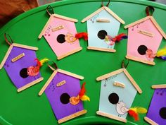 Our class theme for the month was BIRDS and the shape to be introduced was PENTAGON. So I combined both & we did a pentagon shaped bird house craft. Our class theme for the month was Kids Crafts, Bird Crafts Preschool, Spring Crafts For Kids, Toddler Crafts, Projects For Kids, Art For Kids, Pet Theme Preschool, Spring Preschool Theme, Preschool Family