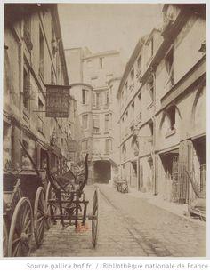 Cour du Dragon : Rue de Rennes - 1898