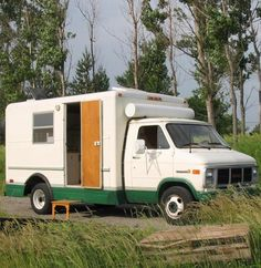 Work Van Converted Into Classy Motorhome just $4500
