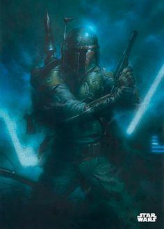 Poster metálico Boba Fett Cazarecompensas, 45 x 32 cm. Star Wars  Un poster metálico con el mejor cazarecompensas de la galaxia, Boba Fett quien consigue cazar a Han Solo para entregarselo a Darth Vader.  Por su estructura de metal este poster es resistente y además de fácil montaje.