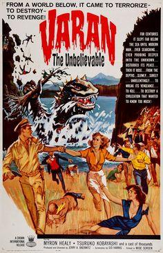 Giant Monster Varan (1958) aka Varan the Unbelievable