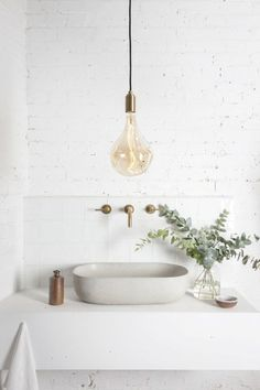 clean simple & modern bathroom - design | bathrooms - white - industrial - idea - ideas - inspiration - calming - architecture - interior design - interiors - photography