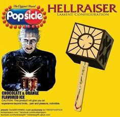 Hellraiser Popsicle