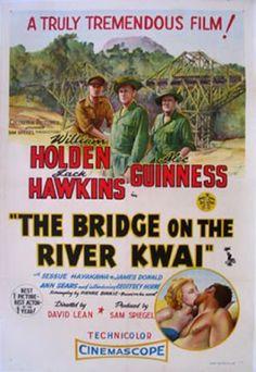 the bridge on the river kwai | The Bridge on the River Kwai (David Lean, 1957)