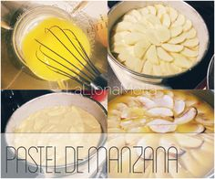 Pasos de la receta del Pastel de Manzana. Pastis de Poma   laLlonaMella DIY