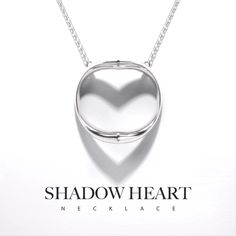 Shadow Heart is innovative necklace that elegantly casts a silhouette of the heart symbol. It is a special gift, especially for the one you love or for yourself. There is no greater force than love, and the Shadow Heart speaks to this love in a charming way. Love is invisible, but felt even in the absence of another's embrace. It's an eternal link, binding two hearts. Unseen, but ever present.