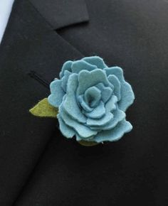 Items similar to From Custom Felt Flower Boutonniere to match your Custom Bouquet. on Etsy Floral Theme, Felt Flowers, Bouquet, Brooch, Etsy, Trending Outfits, Unique Jewelry, Handmade Gifts, Lapels
