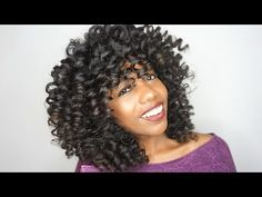 using perm rods for twist out, EASY!