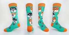 Dogs - Shiba Inu   JHJ Design - The Art of Wearing Socks