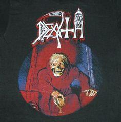 Vintage DEATH 1987 SCREAM BLOODY GORE T-Shirt