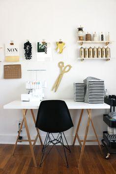 15 Home Offices Sure to Inspire Creativity / via Design*Sponge