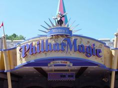 Mickey's PhilharMagic, a 4-D musical experience in Fantasyland, Walt Disney World...Kids and I both loved it def doing it again ( :