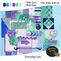 Dhariana Scraps: Everyday Life mini kit