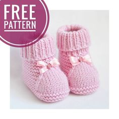 These cute baby booties are the perfect accessories for your baby! Use this newborn baby booties free knitting pattern to make your own now! For the little ones knitting bootees with knitting needles two workshops bootees knitting needles workshops allesf Baby Booties Knitting Pattern, Knitted Booties, Crochet Baby Booties, Baby Knitting Patterns, Baby Patterns, Knitted Hats, Free Knitting, Knitted Baby Boots, Kids Knitting