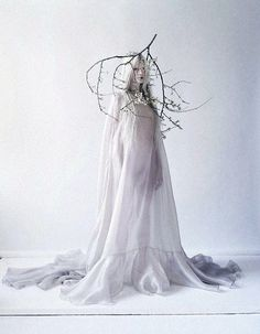 Beautifully strange: Kristen McMenamy is truly breathtaking in a shot by Tim Walker for The Sunday Times Style 2013