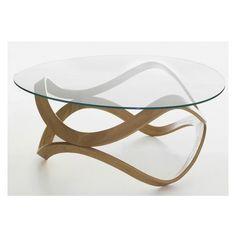 Buy online Newton By karl andersson, low round glass coffee table design Dan Sunaga, Staffan Holm