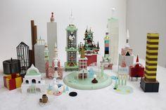 neo-memphis- utopic urbanism by Benjamin Van Oost - Tumult#2 Gent 2014