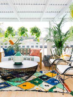 Patio Seating, Patio Table, Outdoor Spaces, Outdoor Living, Outdoor Decor, Garden Furniture, Furniture Decor, Home Decorators Rugs, Minimal House Design
