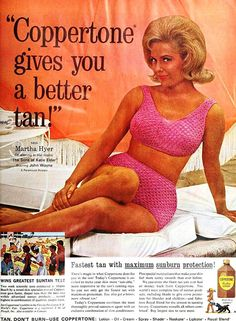 MeTV Network   16 Coppertone sunscreen ads starring the biggest stars of the 1960s