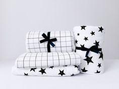 Monochrome Baby Comforter by EmmasStory