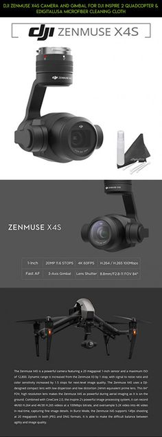 DJI Zenmuse Camera and Gimbal for DJI Inspire 2 Quadcopter & eDigitalUSA Microfiber Cleaning Cloth Drones, Drone Quadcopter, Latest Drone, New Drone, Drone Technology, Gopro Camera, Clean Microfiber, Aerial Photography