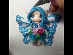 polymer clay mobile phone caes - YouTube