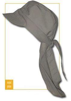 Freebook Legionärskappe, Schirm-Bandana/ Sommermütze mit Nackenschutz 57 - 66 KU auch für Kinder nähen