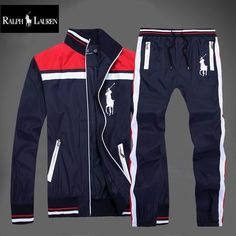 2020 Autumn Mens Full Zip Tracksuit Men Sport Suit White Cheap Men Sweatshirt And Pant Suit Hoodie And Pant Set Sweatsuit Men From Track Pants Mens, Track Suit Men, Grey Suit Men, Mens Suits, Polo Sweat Suits, Cheap Ralph Lauren Polo, Sports Tracksuits, Dope Outfits For Guys, Polo Shirt Outfits