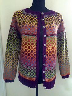 birtheoster's Wiola Kofta i Kauni EQ Fair Isle Knitting Patterns, Sweater Knitting Patterns, Baby Knitting, Knitting Sweaters, Norwegian Knitting, Knit Art, Cardigan Pattern, Fair Isles, Pullover