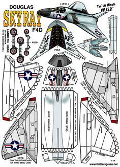 1000+ images about airplanes on Pinterest | Paper Models, Paper Plane and Airplanes